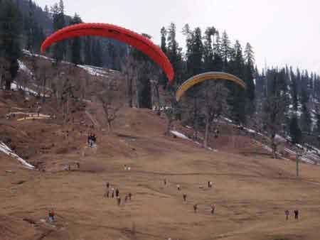 Kullu Manali paragliding Cost