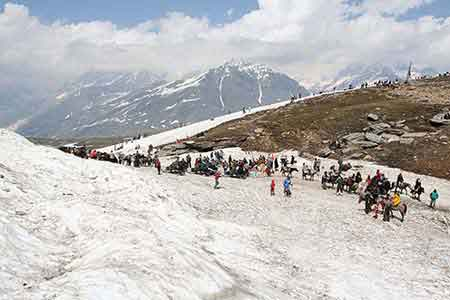 Manali to Rohtang pass Weather