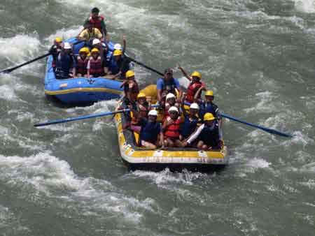 White River rafting in manali Cost